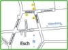 Lageplan vom Jeddeloher Damm